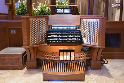 cathedral of saint philip organ